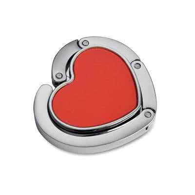 Accroche sac en forme de coeur